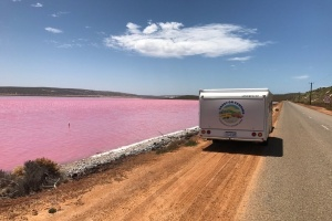 Sid-Pink Lake-Kalbarri