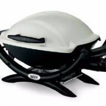 camping accessories, webber baby q barbecue